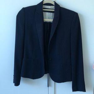 Zara Navy Tailored Blazer Size XS